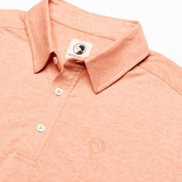 Duck Head - Hayes Polo - Sunbaked Orange