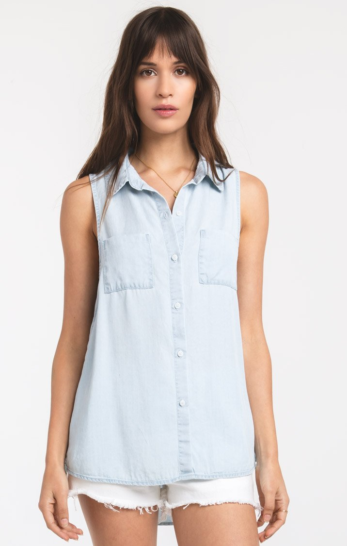Java Shirt - Light Blue Wash