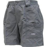 "Aftco - 7"" Original Fishing Shorts - Charcoal"