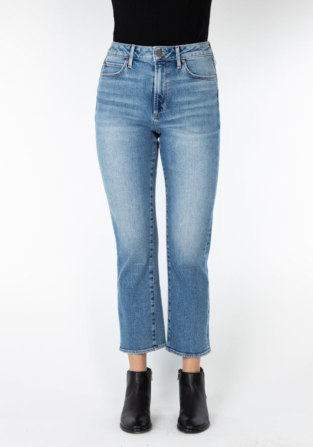 Articles of Society Kate High Rise Straight Crop Jean