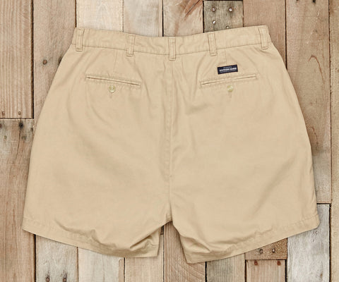 "Southern Marsh - Regatta Short 6"" Inseam - Khaki Oxford"