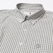 Duck Head - Walton Gingham Button Down - Shadow Green