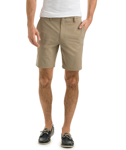 "Vineyard Vines - 8"" Performance Breaker Shorts - Khaki"