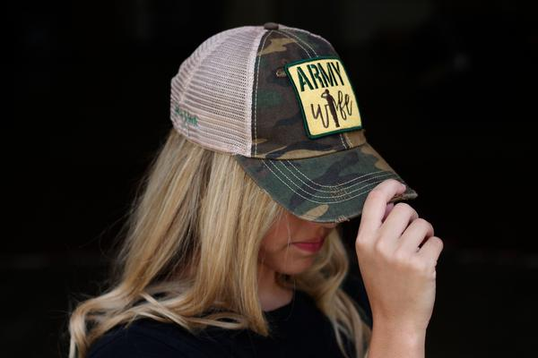 Judith March Army Wife Camo Hat
