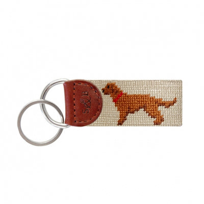 Smathers & Branson - Chocolate Lab Key Fob