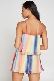 Prism Pleated Tank