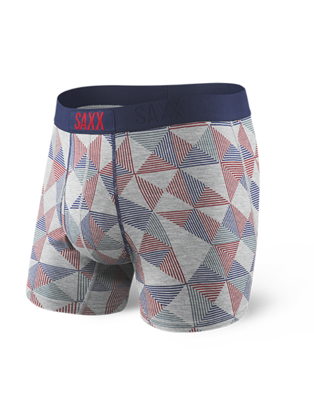 SAXX - Ultra Boxer Open Fly - Grey Pyramid Check