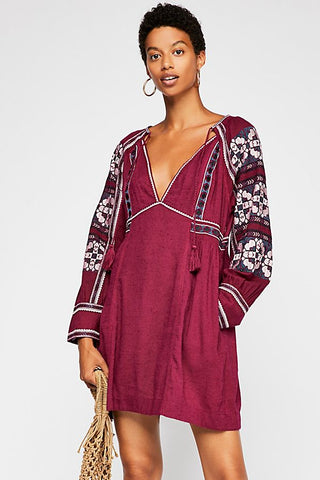 Free People All My Life Mini Dress