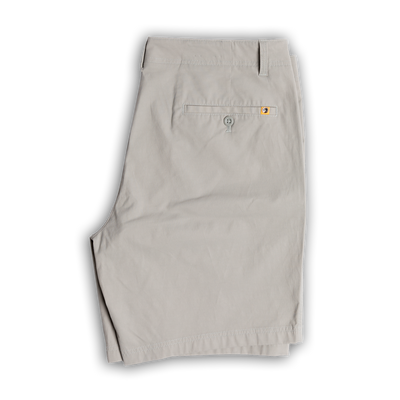 "Duck Head -  8"" Harbor Performance Shorts - Limestone Gray"
