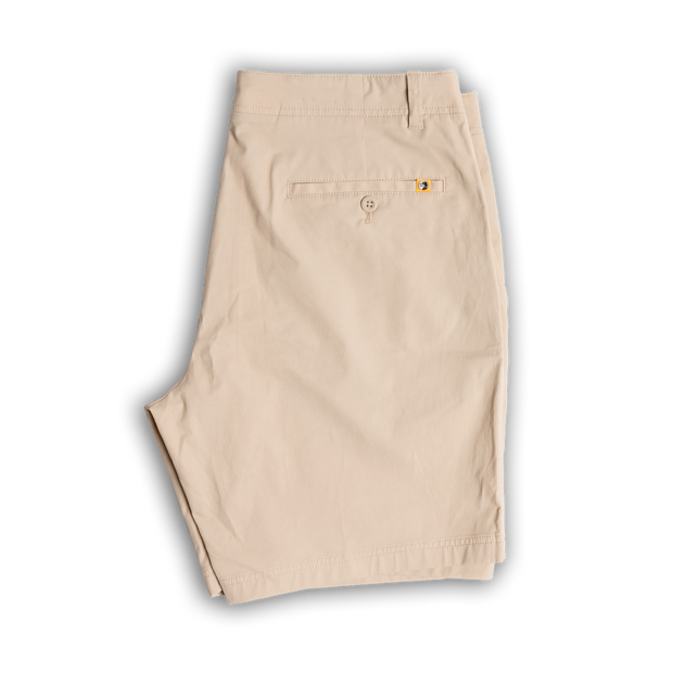 "Duck Head -  8"" Harbor Performance Shorts - Stone"