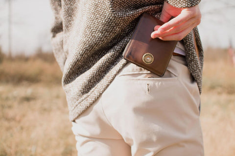Over Under - Horween Bi-Fold Wallet