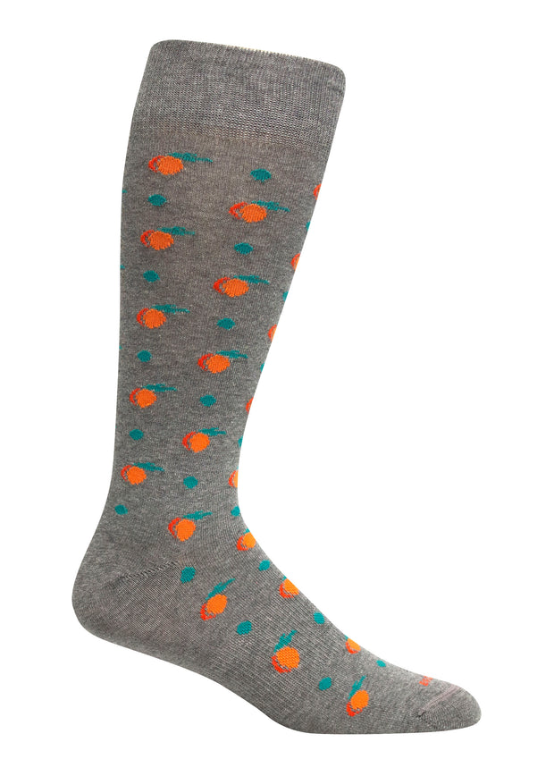 Brown Dog - Peaches Sock - Grey Heather