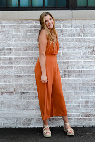 See Me Off Detail Jumpsuit