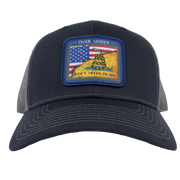 Over Under - Gadsden Flag Mesh Back - Navy