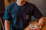 Southern Tide - Ice Cold Beer Neon SS Tee - True Navy