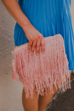 Flapper Girl Crossbody Blush