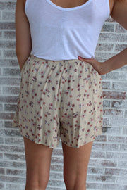 Long Way Around Floral Shorts