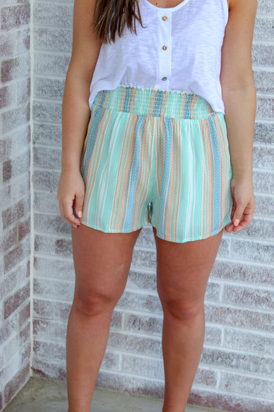 Horizon Stripe Short