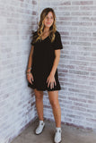 Lead Runner Ruffle Shift Dress