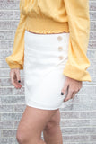 Sweet Like You Button Skirt