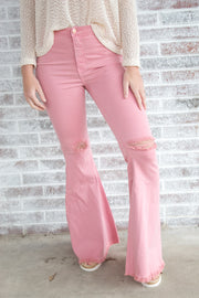 Tickle Me Pink Flares