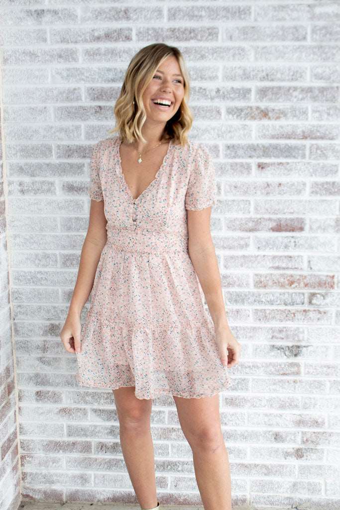 Sweet Georgia Peach Floral Dress