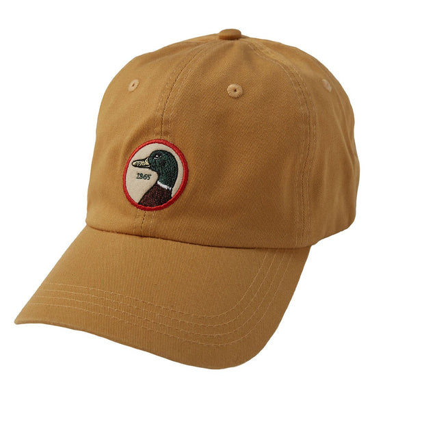 Duck Head - Circle Patch Twill Hat Gold