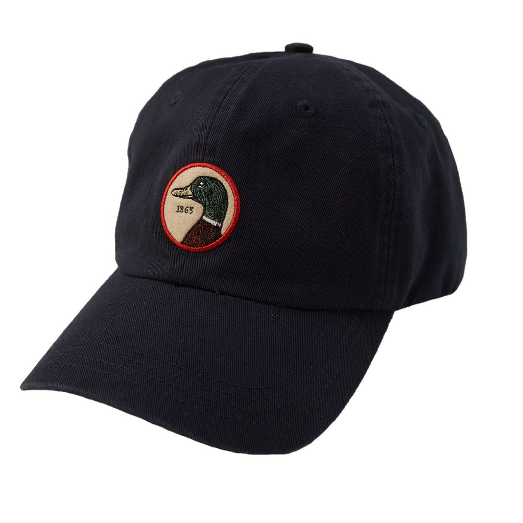 Duck Head - Circle Patch Twill Hat Navy