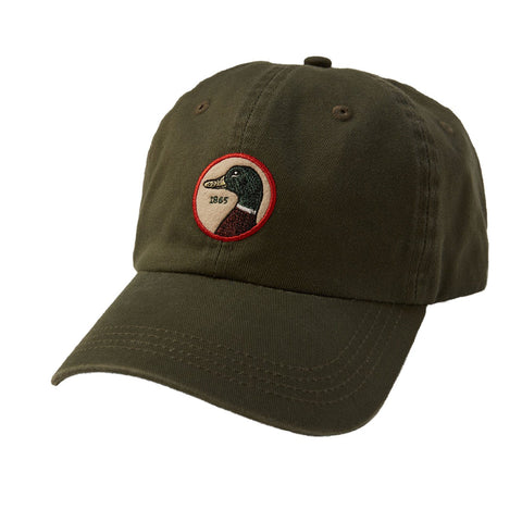 Duck Head - Circle Patch Twill Hat Pine