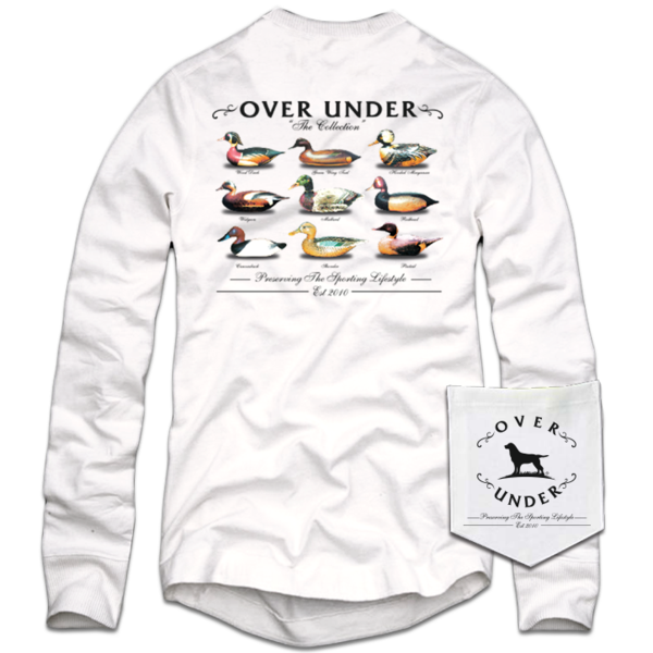 Over Under - LS The Collection - White