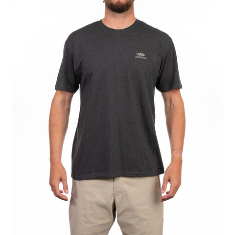 Aftco Release Short Sleeve Tee - Charcoal Heather