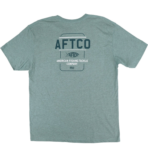 Aftco - Release Short Sleeve Tee - Moonstone Heather