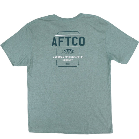 Aftco Release Short Sleeve Tee - Moonstone Heather