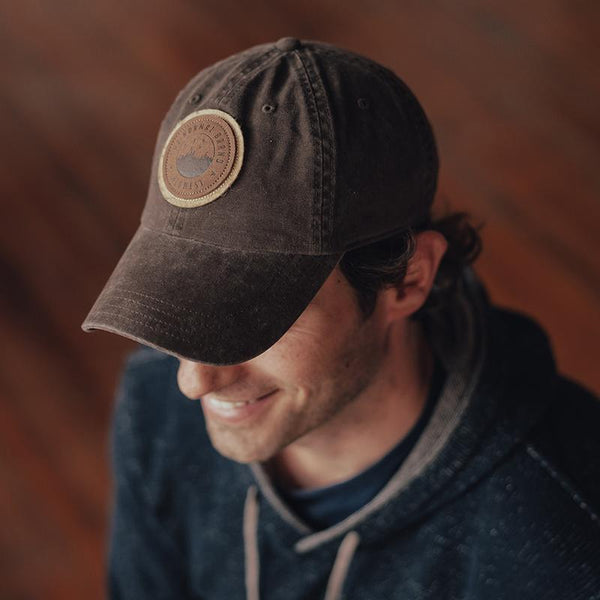 The Normal Brand - Duck Leather Cap - Brown