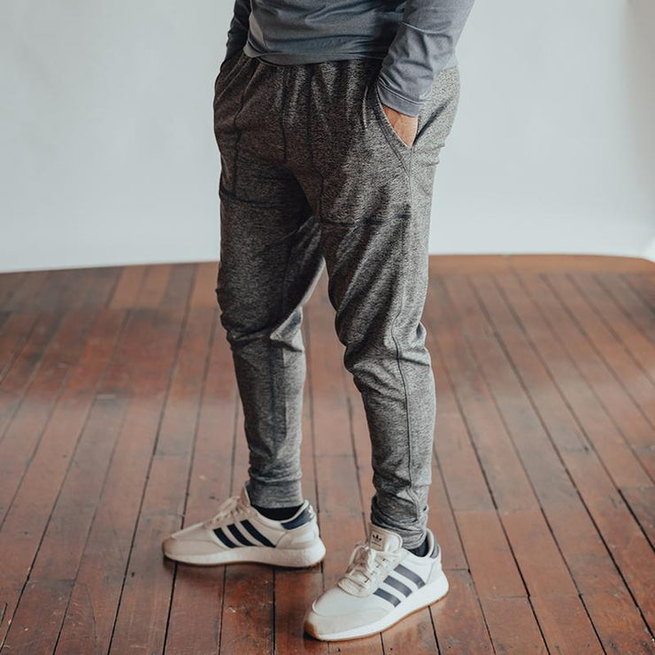 The Normal Brand - Performance Workout Jogger - Charcoal