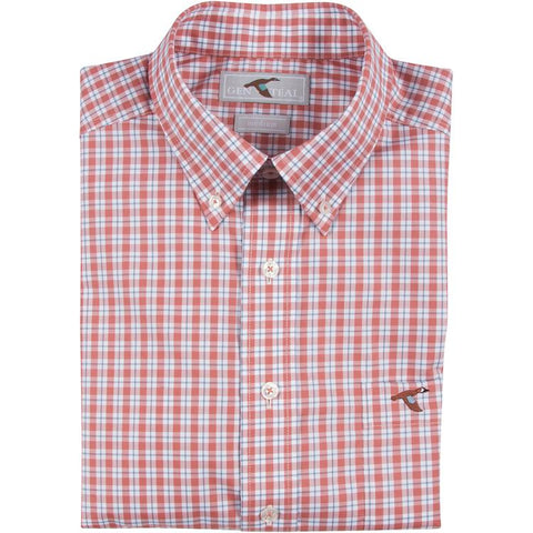 GenTeal - Rustic Plaid Button Down- Rustic Red