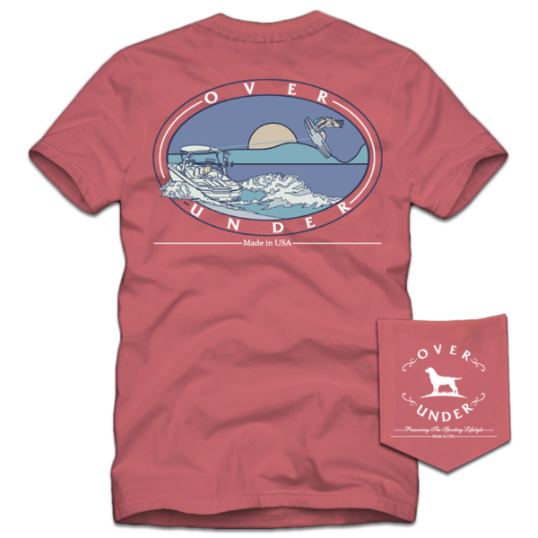 Over Under - Summer Sunset SS Tee - Nantucket