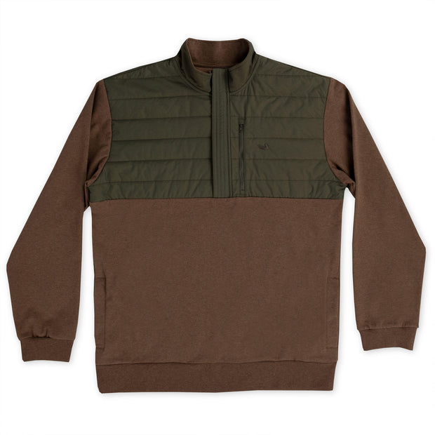 Southern Marsh - Richardson Stretch Pullover - Stone Brown