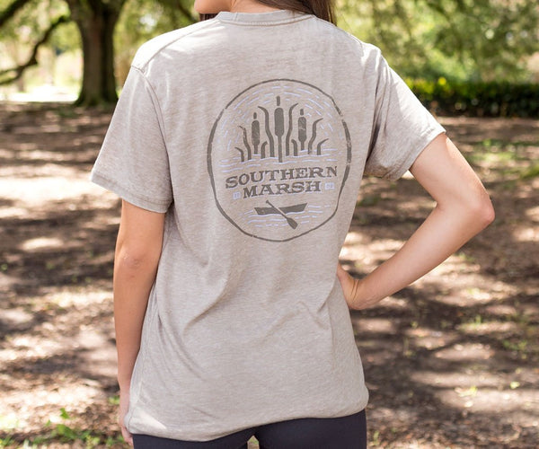 Southern Marsh - Seawash Paddle SS Tee - Burnt Taupe