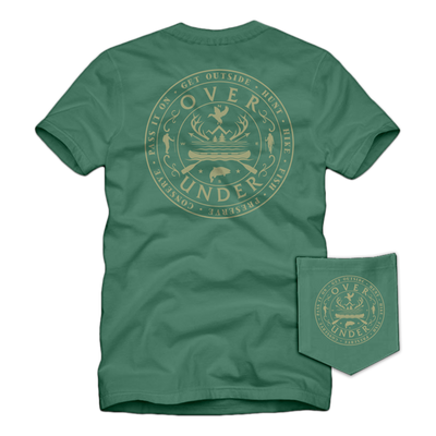 Over Under - Get Outside SS Tee - Sweetgrass