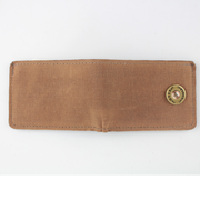 Over Under - Waxed Canvas Bi-Fold Wallet - Field Tan