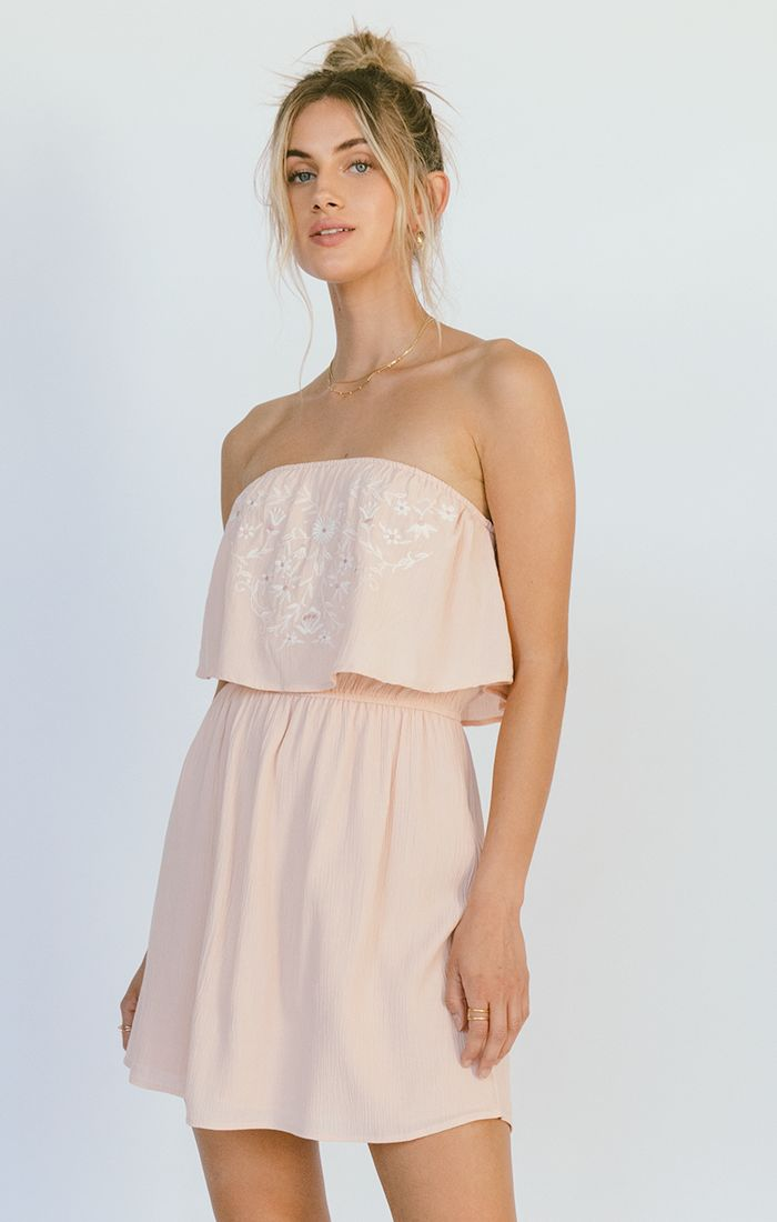 Cali Dress - Pale Blush