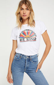 Be Kind Multi Color Slub Tee