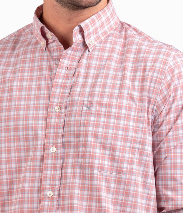 Southern Shirt - Easton Plaid - Sunset