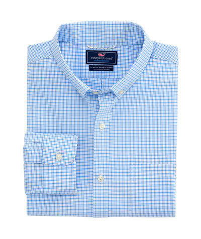 Vineyard Vines - Starfish Performance Murray Shirt - Azure Blue