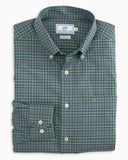 Southern Tide - Appaloosa Gingham Sportshirt - Bay Leaf Green