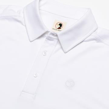 Duck Head - Hayes Polo - White