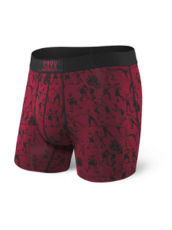 SAXX - Vibe Boxer Modern Fit - Knockout Red