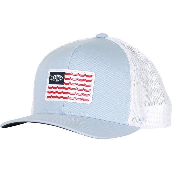 Aftco - Canton Trucker Hat - Light Blue