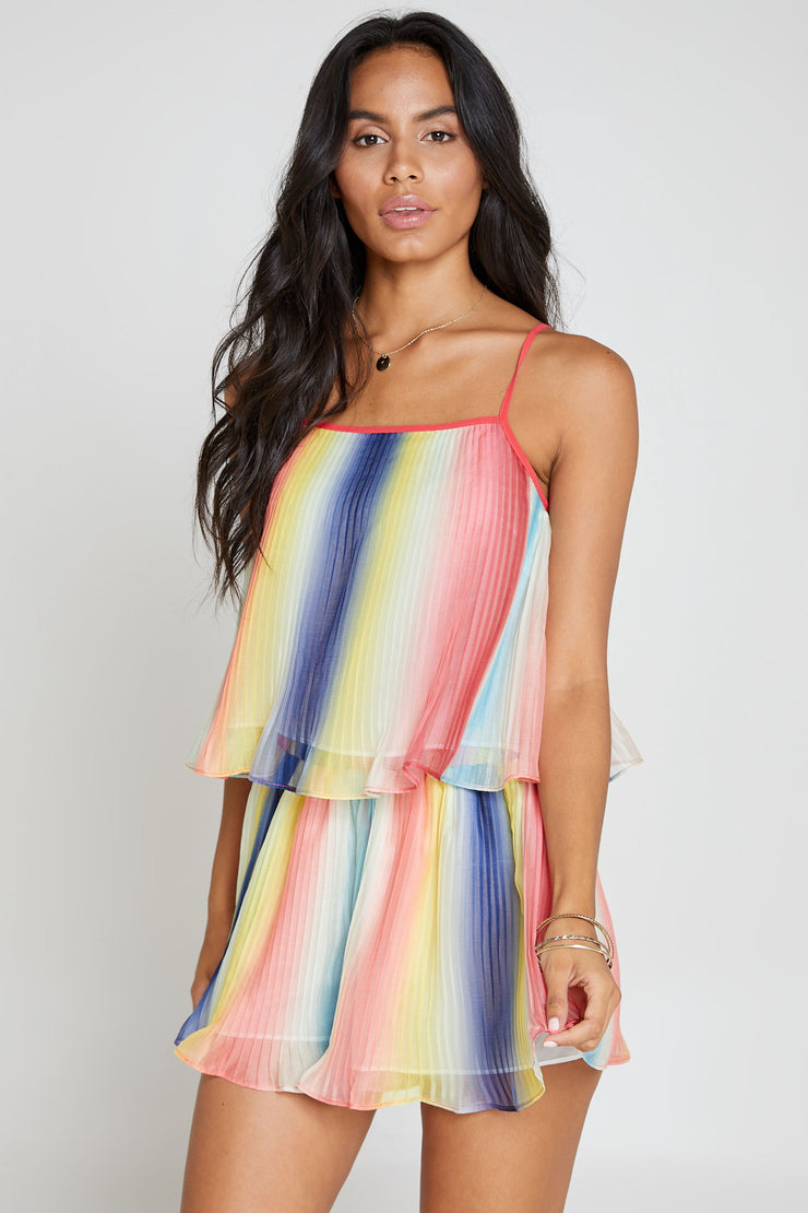 Prism Pleated Short